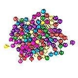 Cascabeles multicolor Westeng, 100 unidades, adornos de Navidad