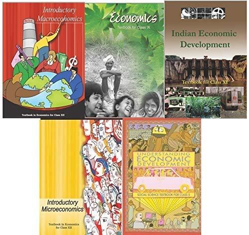 NCERT Economics Class 9 to 12 (Set of 5 Books)