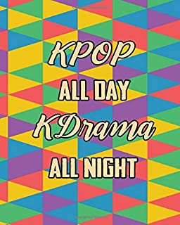 KPOP All Day Kdrama All Night: 2020 Calendar Planner Dated Journal Notebook Diary 8