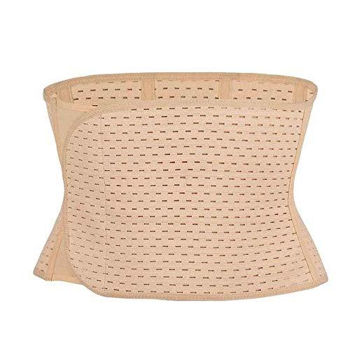 YUEBAOBEI Cinturón Elástico Ajustable Transpirable Postparto Faja Abdominal Postoperatorio Adelgazante Waist Trainer para Mujer,C