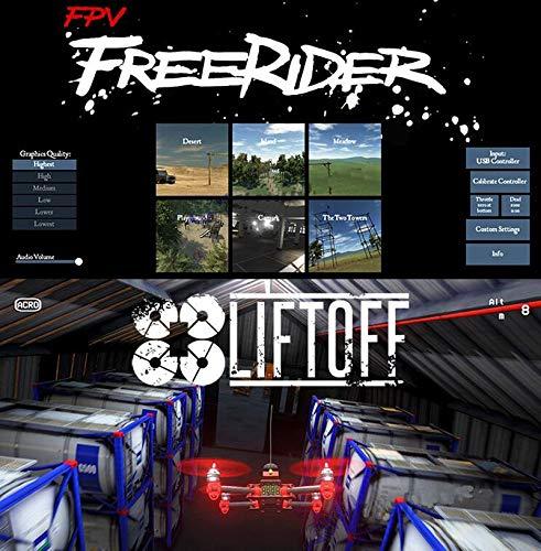 Kamas Freerider Liftoff FPV Simulator Flight Racing Training Phone/Tablet Support WFLY Flysky Walkera Futaba JR Remote Contr