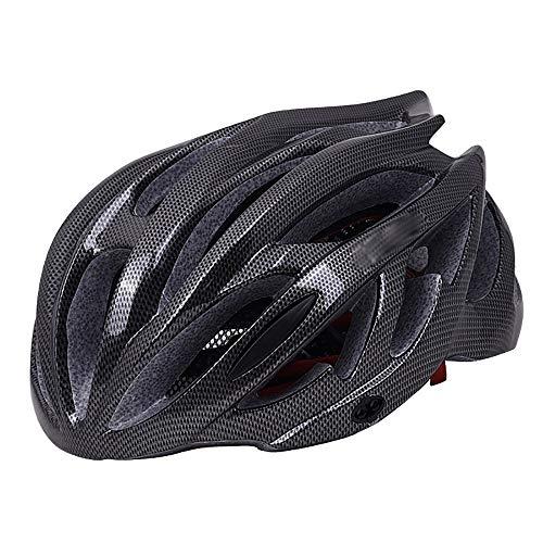 JIAGU Cascos para Bicicletas para Adultos Casco de Bicicleta Casco de Ciclismo de Bicicleta Almohadilla de Ciclismo de montaña Ajustable Cascos for Adultos Hombres Mujeres