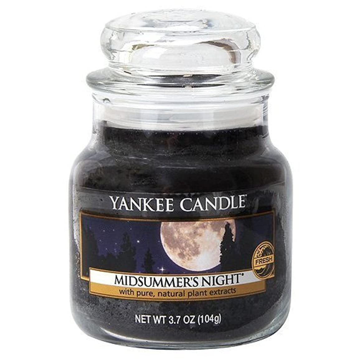 考えるタンザニアモスYankee Candle Midsummer's Night Small Jar Candle, Fresh Scent by Yankee Candle [並行輸入品]