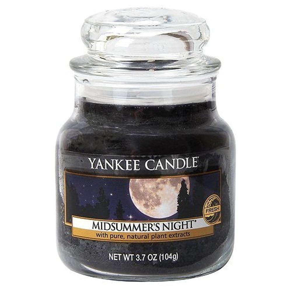 シャッターボトルネック水素Yankee Candle Midsummer's Night Small Jar Candle, Fresh Scent by Yankee Candle [並行輸入品]
