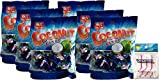 Chun Guang Coconut Candy, 5.6 Ounce (Pack of 6) Bundled with PrimeTime Direct 20ct Flossers in a PTD Sealed Bag