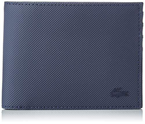 Lacoste Herren Nh2308hc Geldbörse, Blau (Peacoat), 2x9x11 Centimeters