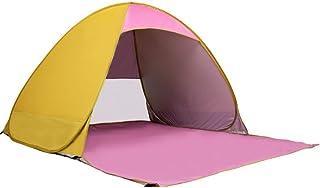 Mobiliario y materiales para educación temprana Tiendas de campaña Tienda pop-up al aire libre Blue Strips Pop Up Beach Tent 3-4 Personas Familia Protección UV Sombrilla de gran tamaño Portátil Sun Shelter Carpa automática instantánea de dosel para camping Pesca Send