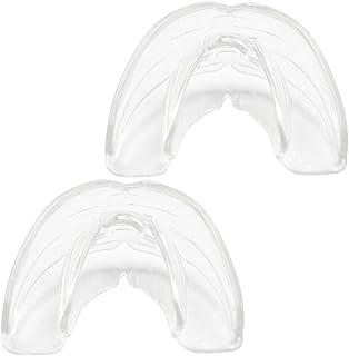 [SUCFORTS]2個セット デンタル マウスピース 歯並び 歯ぎしり いびき が気になる方へ 日本語説明書付き ケース2個付き (クリア)