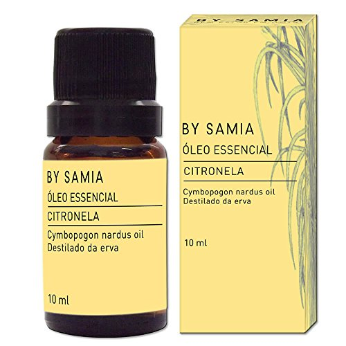 Óleo Essencial de Citronela 10 ml, By Samia, Multicor