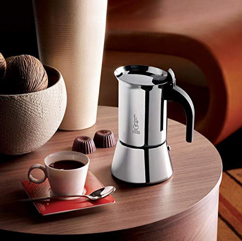 Bialetti: 10 Cup Venus Stainless Steel Stovetop Espresso Coffee Maker, Induction