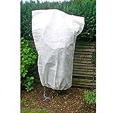 Pflanzenschutzsack, starkes Vlies um Pflanzen abzudecken, 120x150 cm, weiß: Schutzhaube für Pflanzen Schutz Frostschutz Hülle Abdeckhaube