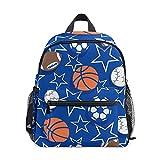 Mini sac à dos d'école, sac à dos pour enfants, sac à livres pour garçons et filles, ballon de sport, baseball, basketball, rugby 115