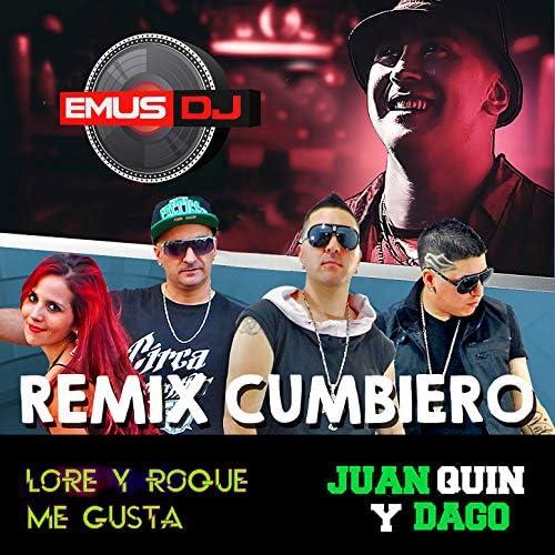Emus DJ, Lore y Roque Me Gusta & Juan Quin y Dago