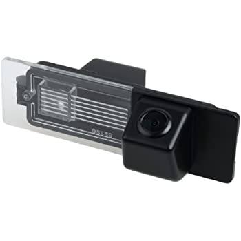 Reversing Vehicle-Specific Camera Integrated in Number Plate Light License Rear View Backup Camera for Mini Cooper Clubman/Convertible/Countryman/Couper/1 Series E81 e87 F20 135i 640i 120i M1