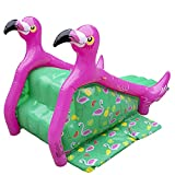 Giant Inflatable Flamingo Pool Slide (98'x 51'x 51') w/ Sprinklers, Have Backyard Water Fun All Summer w/ Family - Backyard Splash Toy, Blowup, Portable - Fits Most In-Ground Swimming Pools