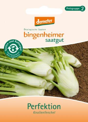 Bingenheimer Saatgut - Fenchel Knollenfenchel Perfektion - Gemüse Saatgut / Samen