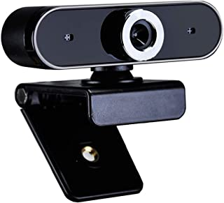 Webcam 480P Web Camera with Built-in Microphone USB Plug & Play for Skype Live Class Conference Video Camera Desktop Laptop Webcams