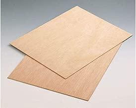 210 mm x 297 mm AUPROTEC 5x A4 Placas de madera 10mm Contrachapado de Abedul para manualidades bricolaje marqueter/ía contrachapada superior madera maciza
