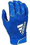 adidas Adizero 8.0 Football Receiver's Gloves Royal Large