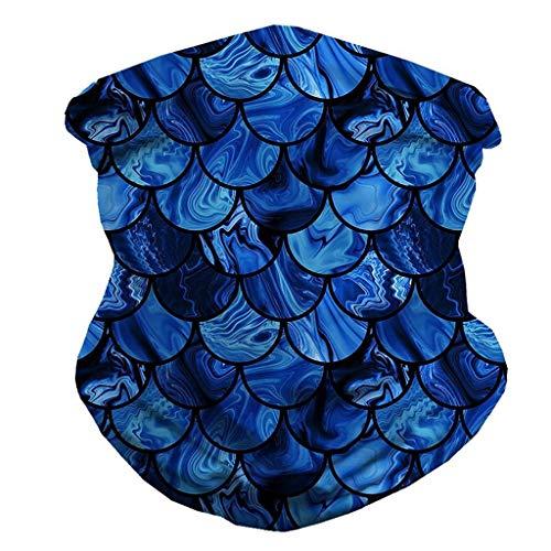 Pitashe Multifunktionstuch Komisch Muster Unisex Schlauchschal aus Mikrofaser | Halstuch | Schlauchtuch | Neckwarmer | Bandana | Multifunktionstuch | Motorradschal | Schnelltrocknend Winddicht Scarf
