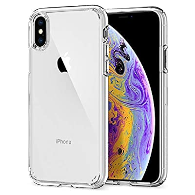 Spigen Ultra Hybrid Designed for Apple iPhone Xs Case (2018) / Designed for Apple iPhone X Case (2017) - Crystal Clear