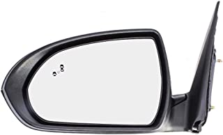 Drivers Power Side View Mirror Heated w/Blind Spot Detection Replacement for 17-18 Hyundai Elantra Sedan 87610F3020