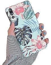 Herbests Compatible con Huawei P20 Pro Funda de Silicona Suave Funda de Flores Elegante Carcasa Diseño Ultra Delgada Cubierta TPU Bumper Antishock Case Cover, Rosa