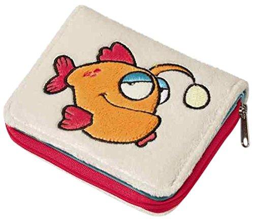 NICI 36624 - Geldbeutel Laternenfisch, Plüsch, 12 x 9.5 cm