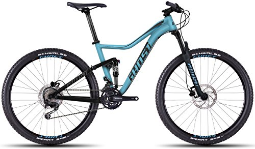 Ghost Lanao FS 2 27,5 Blue/Black 2016 Mountainbike Fully, Color Azul - Multicolor, tamaño L/46cm, tamaño de Rueda 27.50 Inches