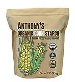 Anthony's Organic Corn Starch, 2 lb, Gluten...