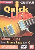 Quick Licks: Jimmy Page Minor Blues - Key C [DVD] [Import]