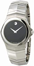 Movado Faceto Quartz Male Watch 84G11895 (Certified Pre-Owned)