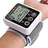 Artmed Latest Models Voice Automatic Wrist Digital Blood Pressure Monitor Tonometer Meter for Measuring and Pulse Rate Blood Pressure Monitor Cuff Kit by Balance, Digital BP Meter with Bright Displ