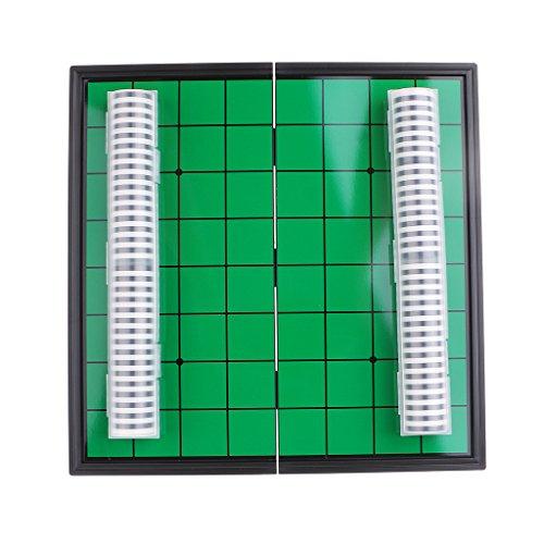 FLAMEER 25cm Magnético Plegable Portátil Reversi Othello Board Chess Juego para Padres...