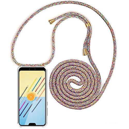 XCYYOO Carcasa de movil con Cuerda para Colgar Huawei Honor 10【Versión Popular 2019】 Funda para iPhone/Samsung/Huawei con Correa Colgante para Llevar en el Cuello -Hecho a Mano en Berlin
