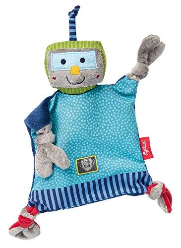 sigikid, 41674 Bébé Garçon Doudou Chiffon Robot, Papa & Me