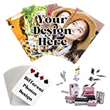 EAQ Custom Playing Cards with Photo/Text,...