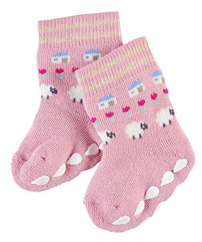 FALKE Babys Socken Highlands Fair Isle, Pink (Rose 8660), Größe: 80-92