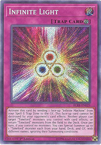Infinite Light - BLRR-EN029 - Secret Rare - 1st Edition