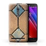 Phone Case for Asus Zenfone 2 ZE550ML Stone/Rock Paving