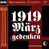 1919 Märzgedenken: VII. c Lagebericht Dr. Karl Renners (Live) (Rede)