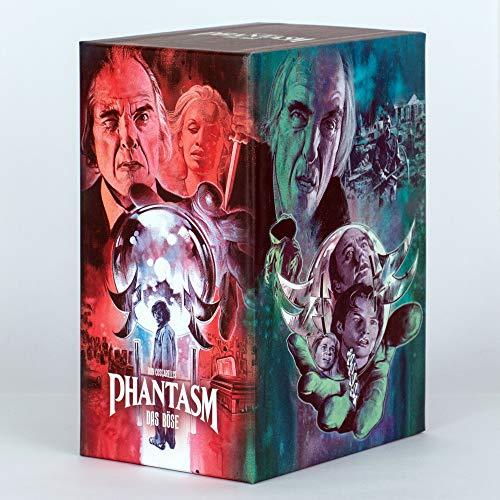 PHANTASM I-V - Das Böse 1-5 - MEDIABOOK EDITION in Limitierter Sammlerbox [Blu-ray / DVD]