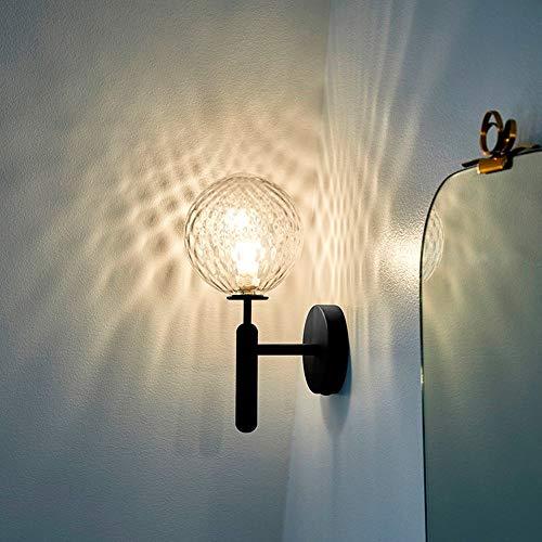 Applique Petit mur Taille de la lampe 32cm * 13cm lampe d'éclairage Villa Chambre Étude Hôtel Réchauffez Noir