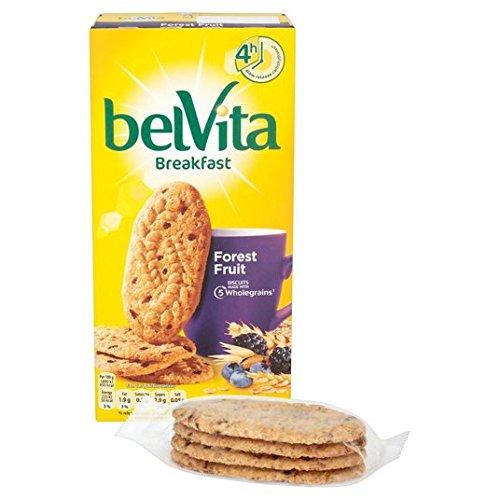 Belvita Bosque de la fruta de desayuno galleta 6 x 50g