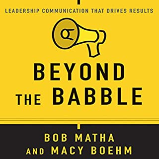 Beyond the Babble audiobook cover art