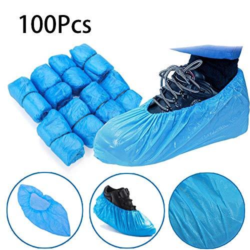 100 Piezas Estándar Cubiertas De Zapatos Desechables /