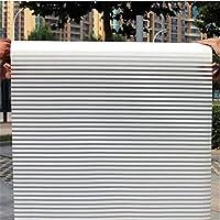 JINRAN ワイド45センチメートル*ロング100センチメートルつや消しマットガラス窓フィルム用ウィンドウプライバシー粘着グラスステッカーホームデコレーション混色ベッドルーム (Color : CZ63)