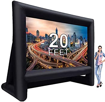 Laika Factory 20 Feet Inflatable Outdoor Movie Projector Screen