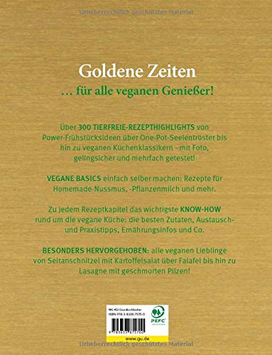 Vegan! Das Goldene von GU: Tierfreie Rezepte zum Glänzen und Genießen (GU Grundkochbücher) - 4