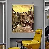 DIY Malen nach Zahlen 40x50cm/16x20inch(With frame)Van Gogh